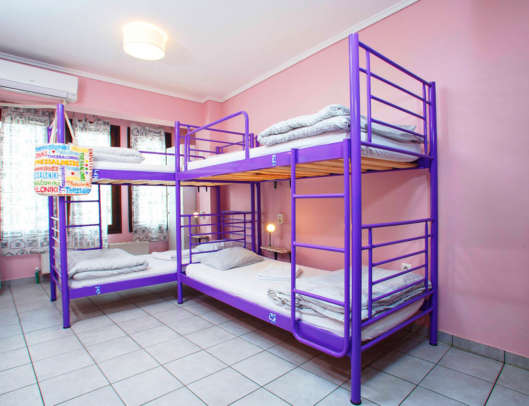 3.Superior 6 Bed Mixed Dorm Ensuite (Room 4)
